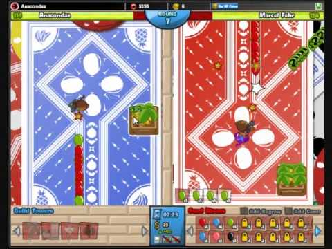 Bloons TD Battles #18: How to Win on the Cards Map!