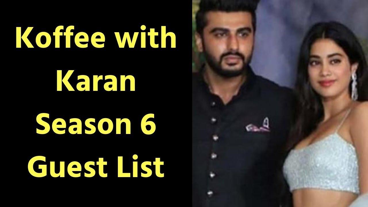 Karan Johar Announces Koffee With Karan Season 6 | Here's The Expected  Guests On 'Koffee With Karan'