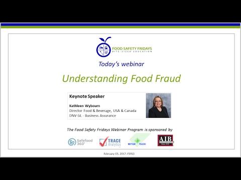 Understanding Food Fraud
