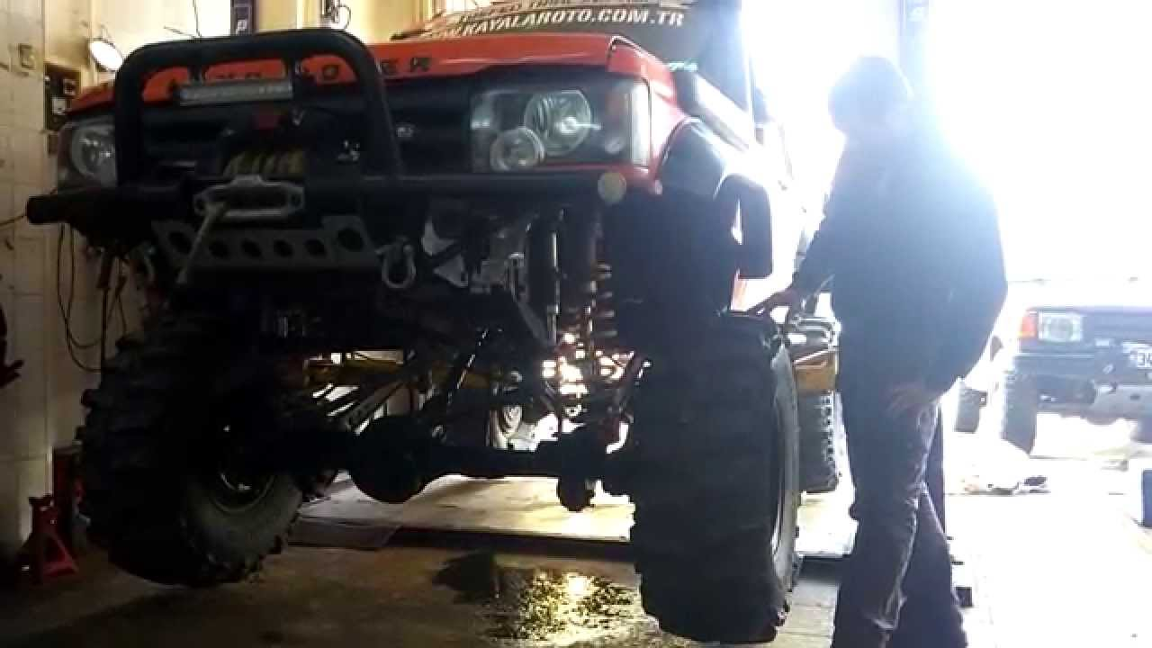 İkİzler Twins Suspension Show Land Rover Discovery Td5