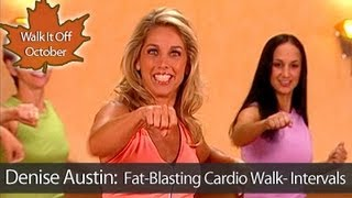 Denise Austin: Fat-Burning Cardio Walking Workout- Intervals