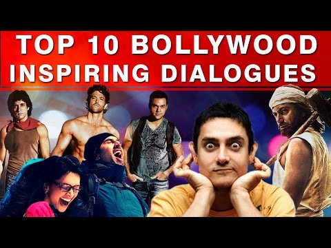 Top 10 Bollywood Inspirational Movie Dialogues - Motivational Video in Hindi
