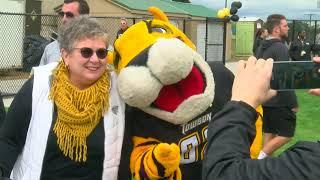 Towson University cuts the ribbon on new Field Hockey facility