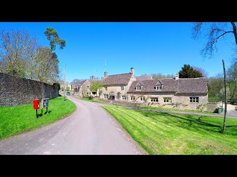30 Mins Treadmill Workout Scenery. Virtual Scenery For Exercise Machine (Cotswolds UK)
