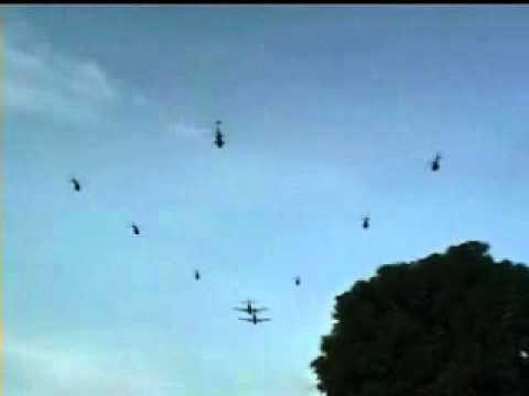 Flypast RAMSI Solomon Islands