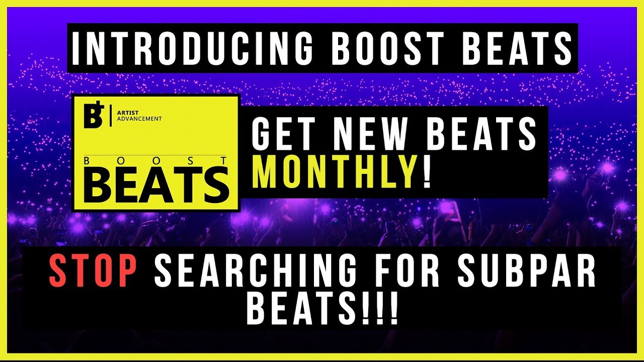 Introducing Boost Beats | Get New Rap Beats Monthly! Free SoundCloud Promo!