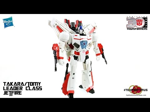 Video Review of the Takara/Tomy LG-07 Leader Class Jetfire