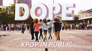 Gambar cover [KPOP IN PUBLIC] BTS (방탄소년단) — DOPE (쩔어) dance cover by JJANG B