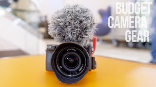 Best Camera Gear Under $50 (YouTuber Edition)