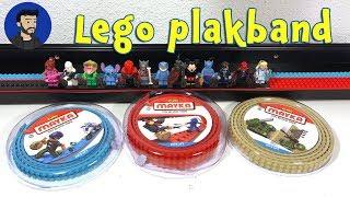 Mayka Toyblok tape - Lego plakband. Ik maak een display voor mijn minifigs