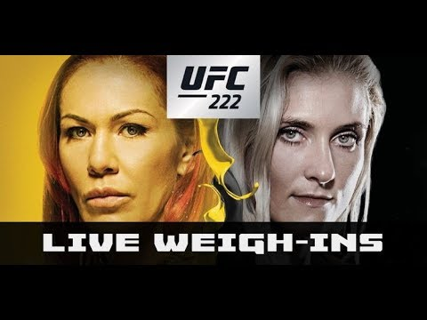UFC 222 Ceremonial Weigh-Ins: Cris Cyborg vs Yana Kunitskaya