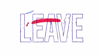 Paul Schulze & Adaptiv feat AISHA. - Leave (Get Out) - Lyric Video [POINT BLANK RECORDINGS]