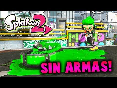 GANANDO SIN UTILIZAR EL ARMA EN SPLATOON 2 | Nintendo Switch