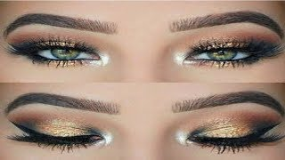 Smokey Eye Makeup Tutorial || Eye Makeup for beginners || 2