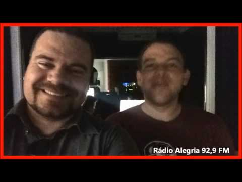 Maikel Rohde na Rádio Alegria 92,9 FM - Novo Hamburgo - RS