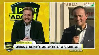 ¿Buenos números? Gabriel Arias afrontó las críticas a su juego