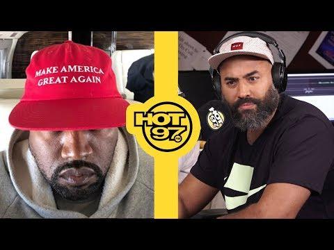 Kanye West Calls Ebro...AGAIN To Try & Organize Kaepernick/T