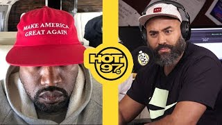 Kanye West Calls Ebro...AGAIN To Try & Organize Kaepernick/Trump Meeting