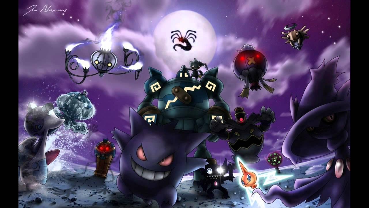 Resultado de imagen de pokemon tipo fantasmas