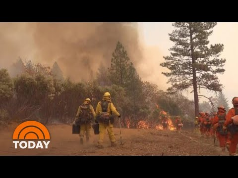 California Wildfires: Death Toll At Least 80, Nearly 1,000 Unaccounted For | TODAY