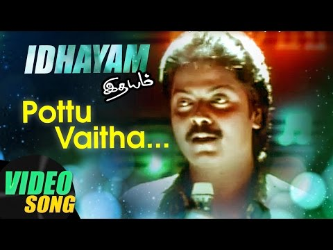 Pottu Vaitha Oru Full Video Song | Idhayam Tamil Movie Songs | Murali | Heera | Ilayaraja