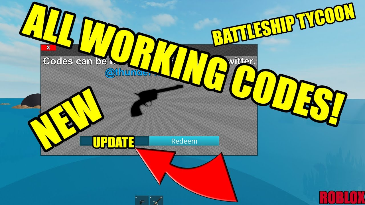 All July 2020 Op Working Roblox Battleship Tycoon Codes Free Cash