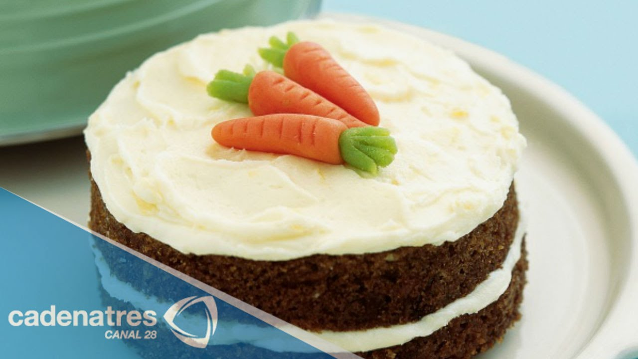 Receta fácil de Pastel de zanahoria / Receta fácil / Carrot Cake