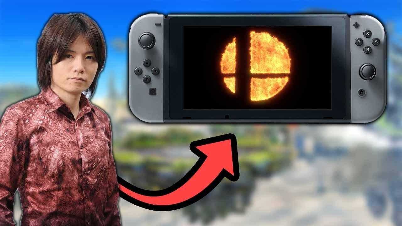 THIS WAS SAKURAI'S SECRET PROJECT! - Super Smash Bros. for Nintendo Switch Discussion
