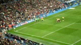 Del Piero Real Madrid-Juventus 0-2 Coppa Campioni 4-11-2008 Stadio Bernabeu