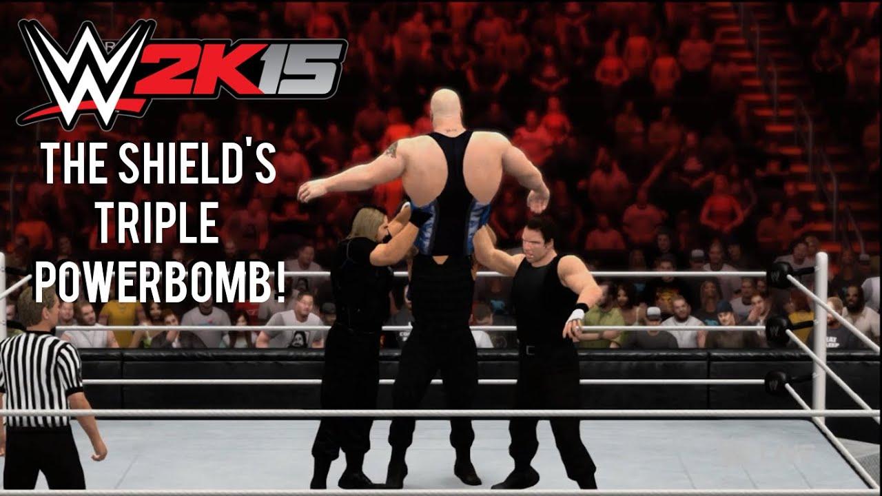 wwe 2k15 how to perform the shields triple powerbomb