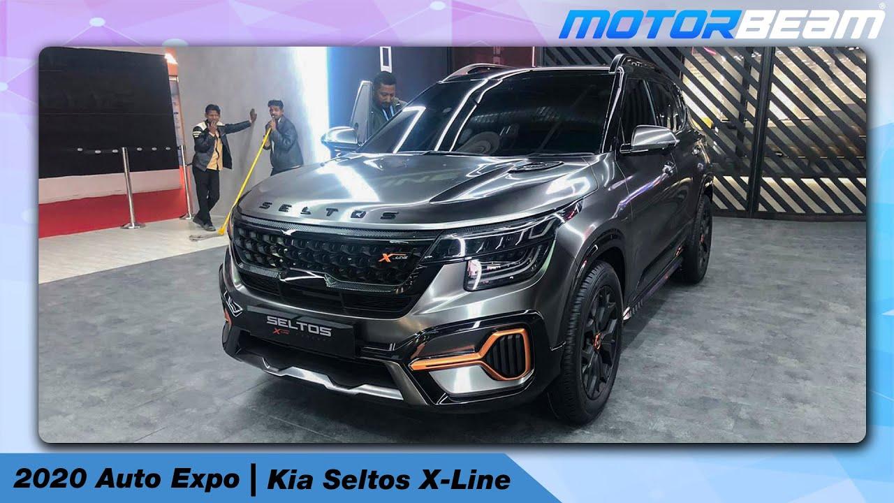 Auto Expo 2020 Kia Seltos X Line Concept Makes India Debut Beyond Creativity