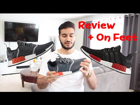Adidas NMD Double Pickup   Dark Grey & Bred Review & On Feet