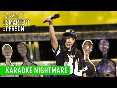 Alex's Karaoke Nightmare | Canada's Smartest Person | CBC