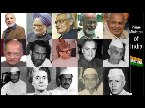 Lists of Prime Ministers/From Jawaharlal Nehru to Narendra Modi