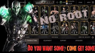 *CONTEST*No Root:All Characters,unlimited Coins,Souls,Alien Mortal kombat x Android