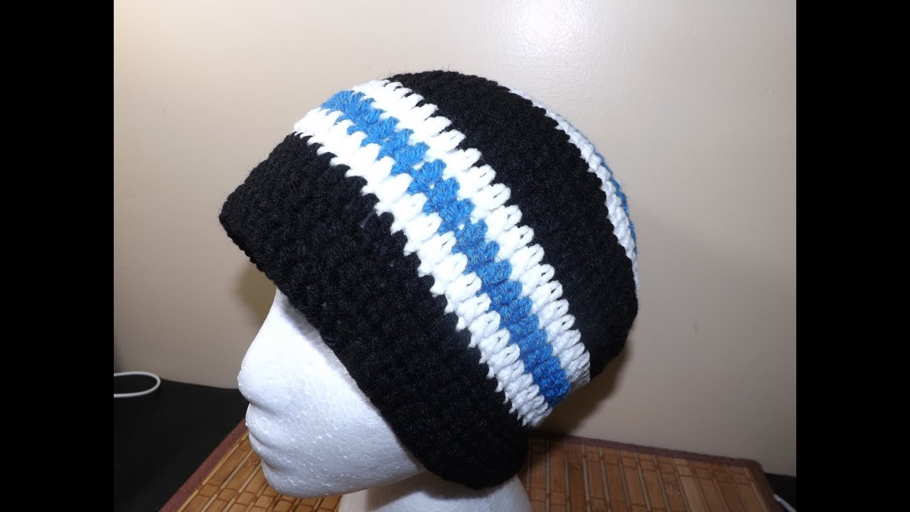 Crochet A Mens Hat With Ruby Stedman Youtube