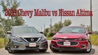 2016 Chevrolet Malibu vs Nissan Altima
