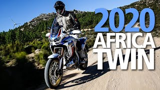 2020 Honda Africa Twin CRF1100 Review