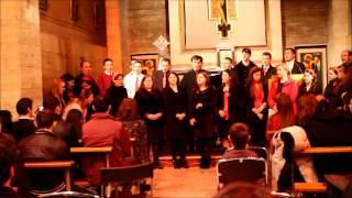 Lauda fie adusa - Grup colindatori din Biserica Strajerul Acquasparta