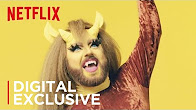 Big Mouth | Queens of Netflix: Beardra Bidness | Netflix - Продолжительность: 64 секунды