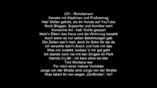 Mert feat. Samra - U21 | Lyrics by |MusicLyrics|