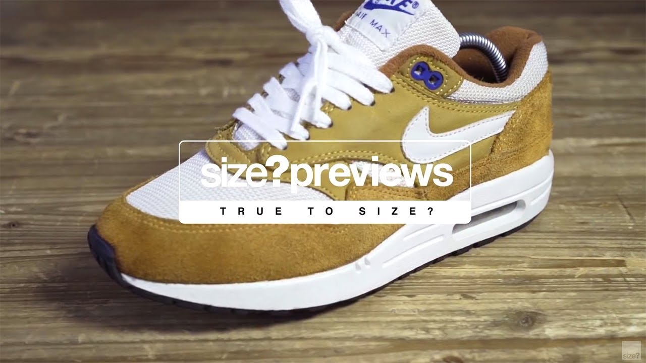 9762bf99c84b32 size?previews - true to size? 003 (Nike Air Max 1 'Curry' 03 vs 18 ...