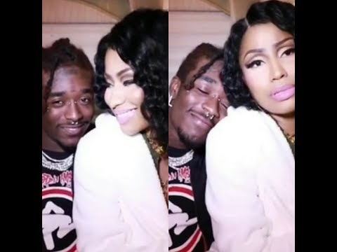 Lil Uzi Vert Feeling Extra Happy With Nicki Minaj Sitting On His Lap