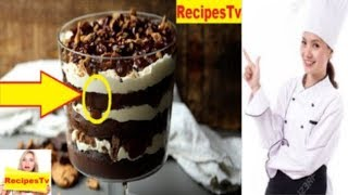 How To Make  Chocolate Chip Cookie Trifle At Home  |  Healthy Food Recipes