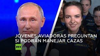 Putin define el lugar de la mujer en el Ejército ruso