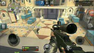 Combat squad gameplay (sniper)