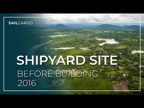 SAILCARGO INC. SHIPYARD Build Site: Our Land, Punta Morales, Costa Rica
