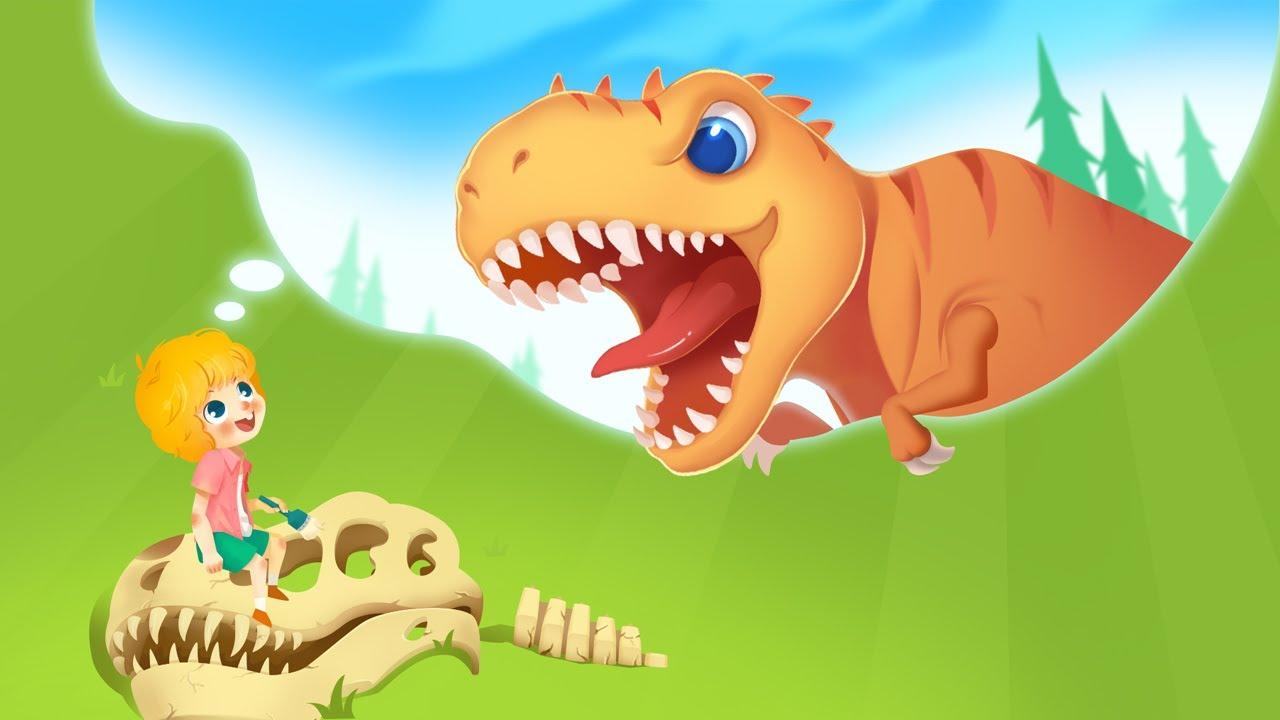 Jurassic Dig - 🔍Jurassic Explorer Games for Kids | Kids Learning | Kids Games | Yateland