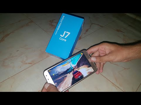 SAMSUNG GALAXY J7 CORE REVIEW | CAMERA | GAMES | MOBILE WORLD URDU