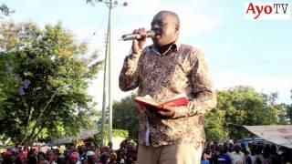 Ulishawahi kumuona Mbunge Profesa Jay jukwaani akiongea na Wananchi?